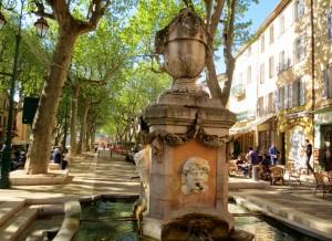 Cotignac Fontaine de Quatre Saisons (2)