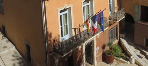 Hotel de ville Cotignac