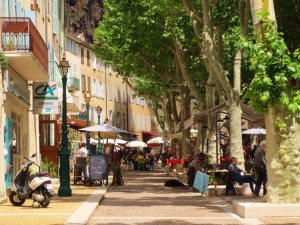 The Cours Gambetta, Cotignac