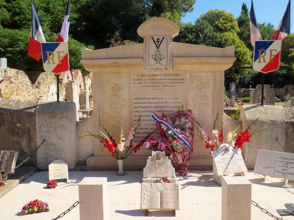 01-COTIGNAC-Commémoration-des-combats-du-maquis-du-Bessillon