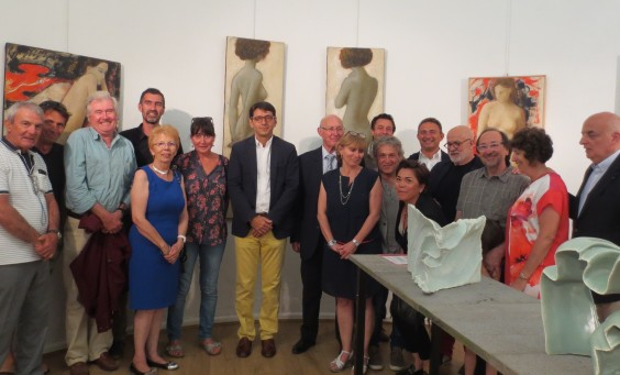 Vernissage Group photo