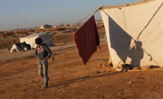 Syrian Refugees near Mafraq. Photo: Harry CHUN / CARE
