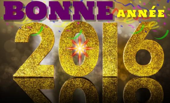 Bonne Anee 2016