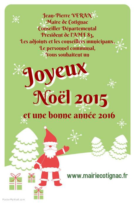 Joyeux noel mairie card for site