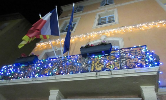 Mairie Christmas lights