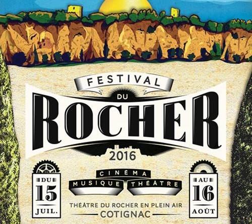 Festival du Rocher affiche 2016