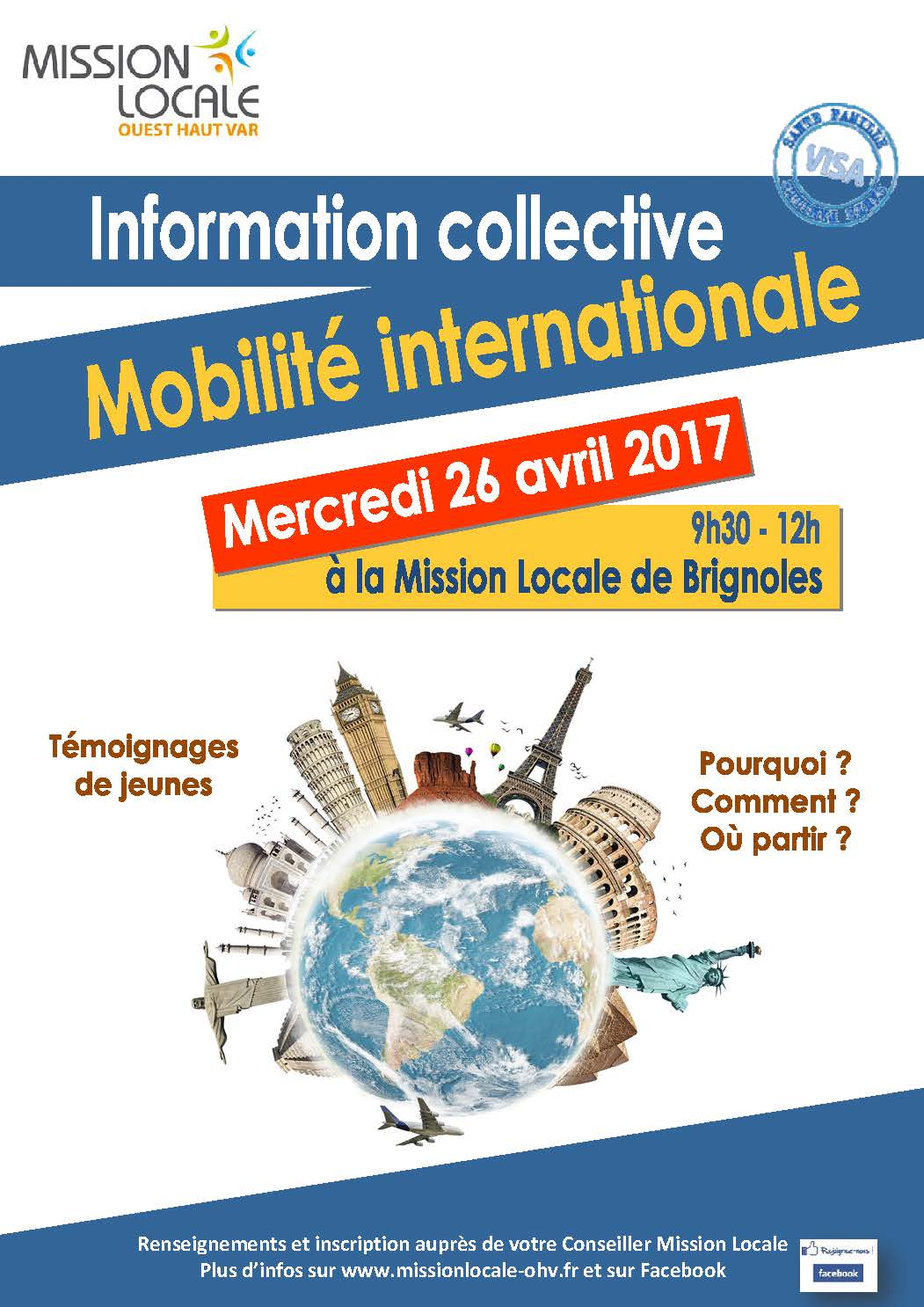 Mobilité internationale du 26.04.17