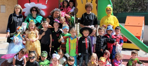 Maternelle Carnaval groupe